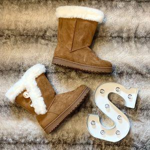SO Abigail Women's Faux-Fur Boots